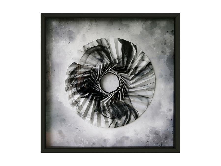 Origami Marble Circle Artwork