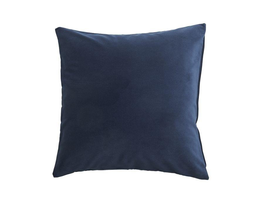 Navy Blue Velvet Cushion Cover, 50x50cm