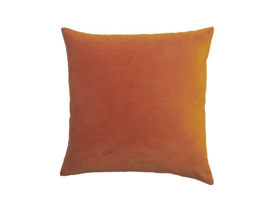 Rust Velvet Cushion Cover, 50x50cm