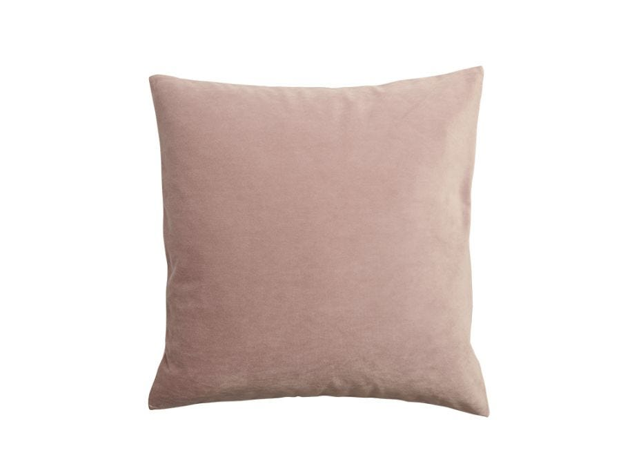 Mauve Velvet Cushion Cover, 50x50cm