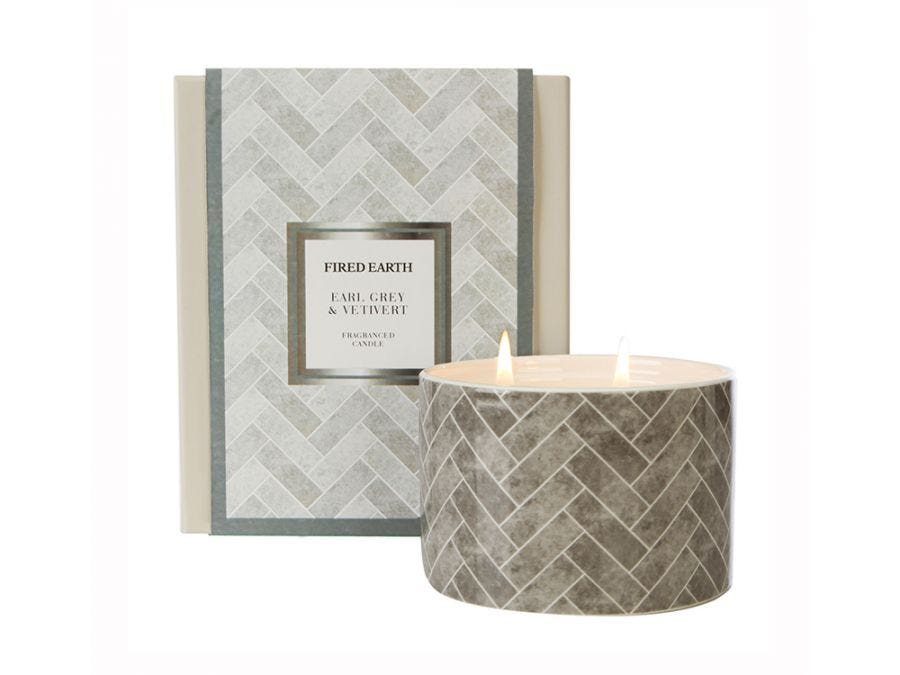 Earl Grey & Vetiver Candle Ceramic
