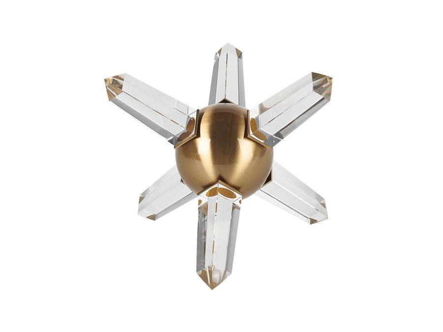 Crystal Urchin Ornament