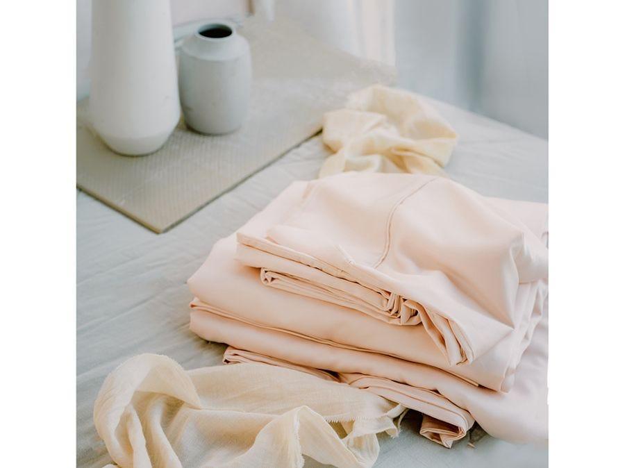 Pia's Pink Bedding Set, 100% Bamboo King