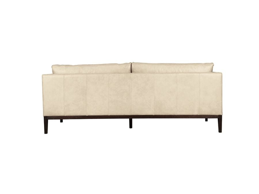 Vancouver 3 Seat Sofa, Cortina White Leather