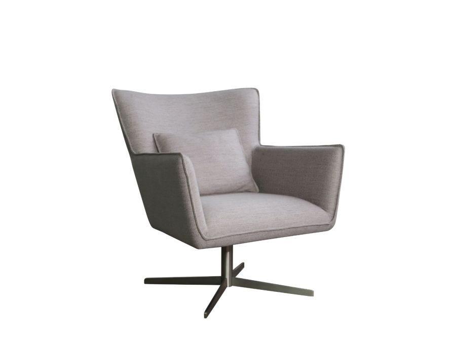 Jacob Swivel Chair, Eton Stone