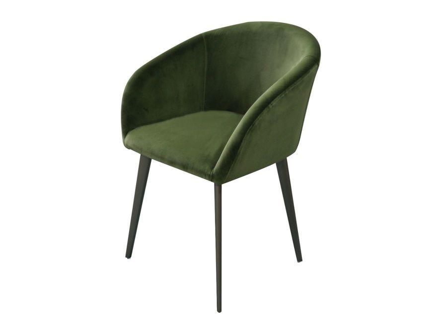 Tyson Chair, Green Velvet