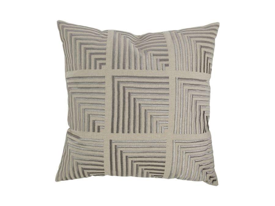 Tedra Cushion Cover Silver