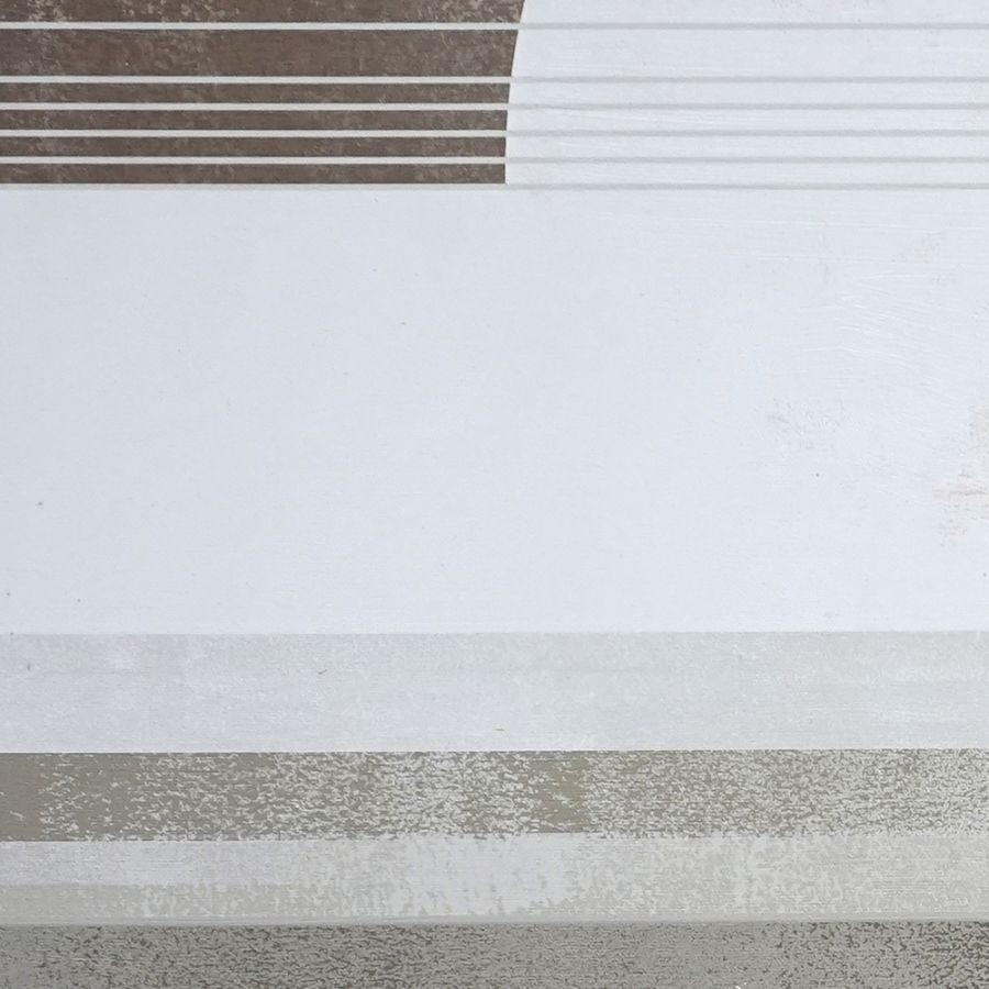 B&W Abstract Landscape A Japandi