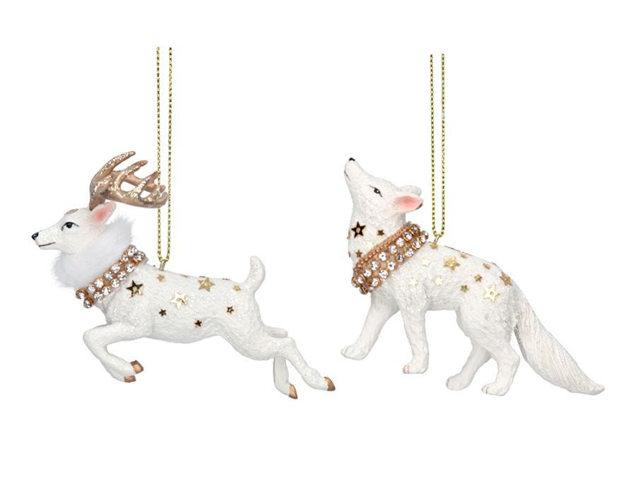 Christmas Stag or Artic Wolf, Assorted Designs