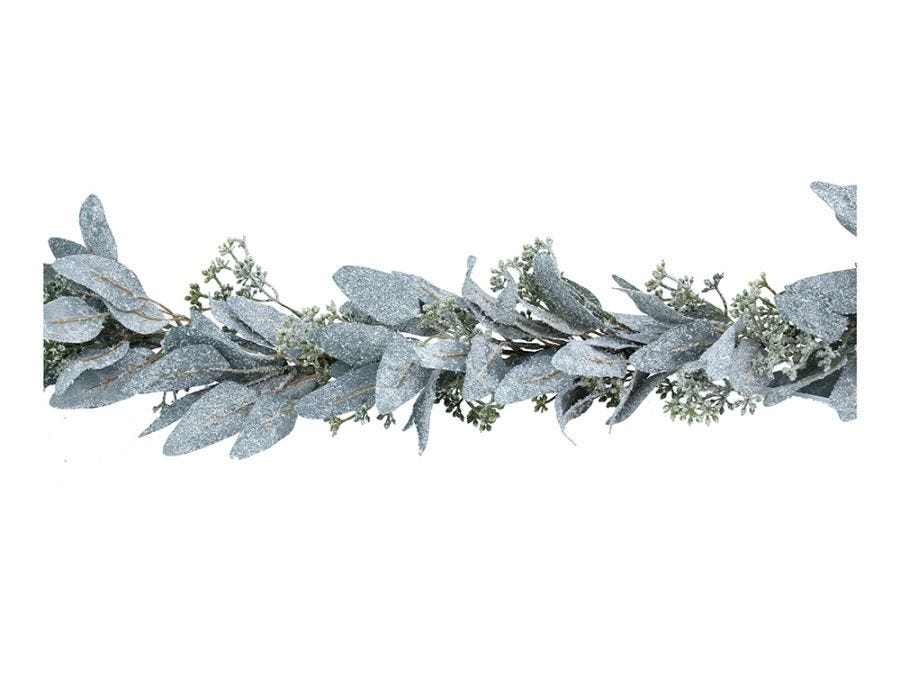 Frosted Eucalyptus Garland 190cm