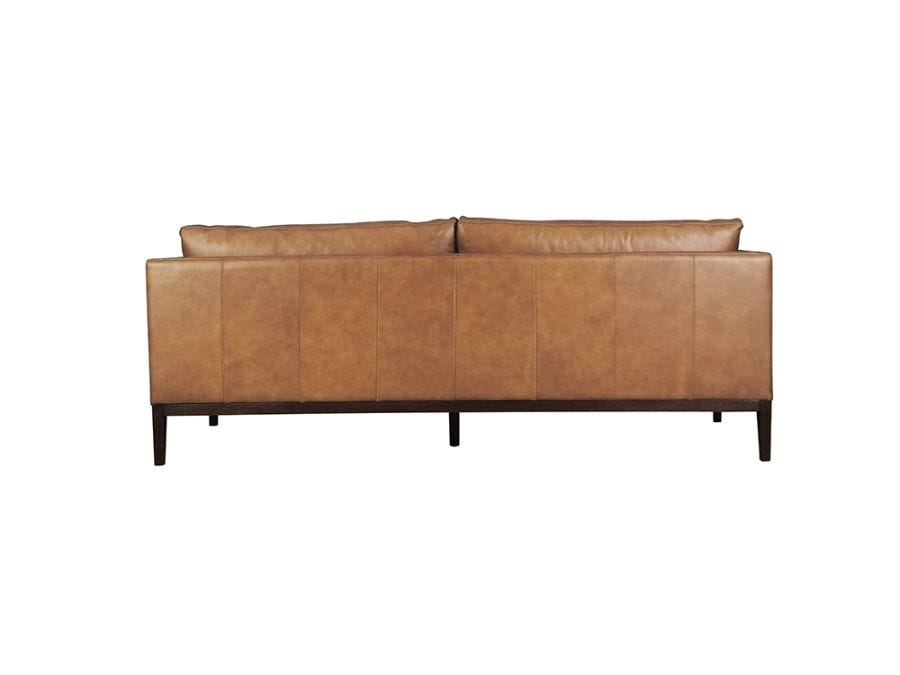 Vancouver 3 Seat Sofa, Old Saddle Nut Leather