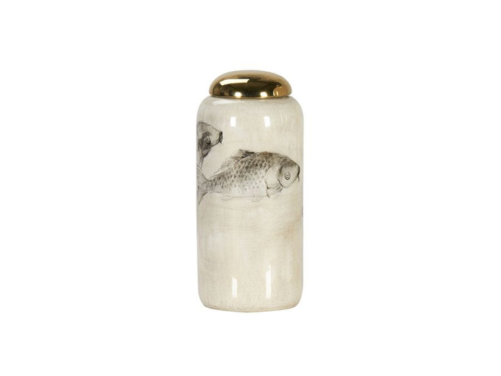 Carp Vase Jar, Tall