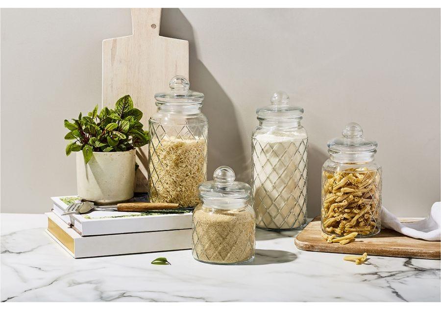 Trellis Storage Jar Set of 4