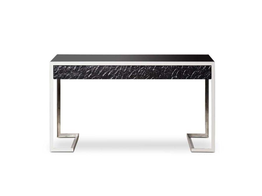 Dexter 2 Drawer Desk - SS