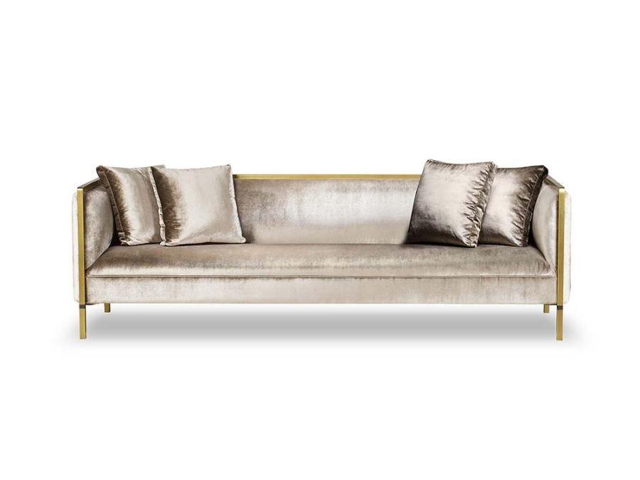 Jeeves Sofa -Large/Moki Fabric