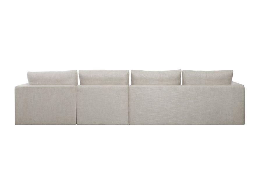 Basel 4 Seat L Shape Right Sofa