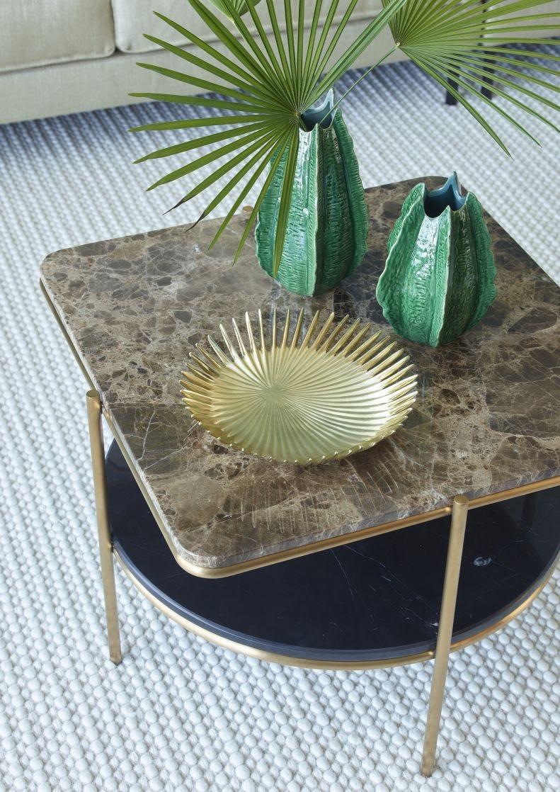 Palm Round Plate - L