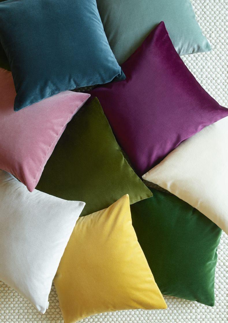 MauveVelvet Cushion Cover
