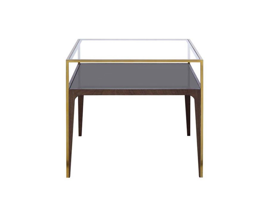 Silhouette S.Table-SmokedGlass