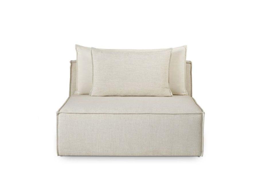 Charlton Armless Chair-M.Dove