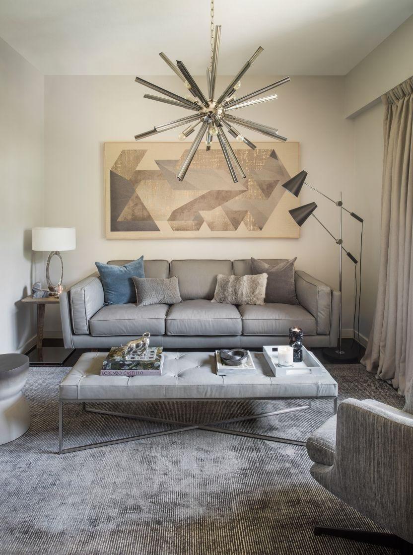 Grey Fur Cushion Cover, 50x30cm