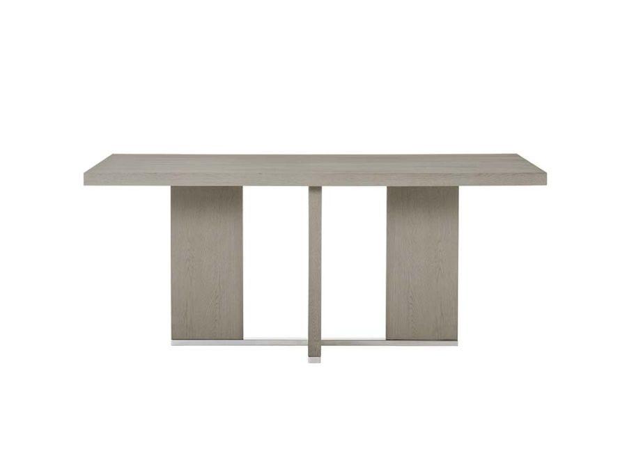 Calvin Cross Dining Table, Grey Oak