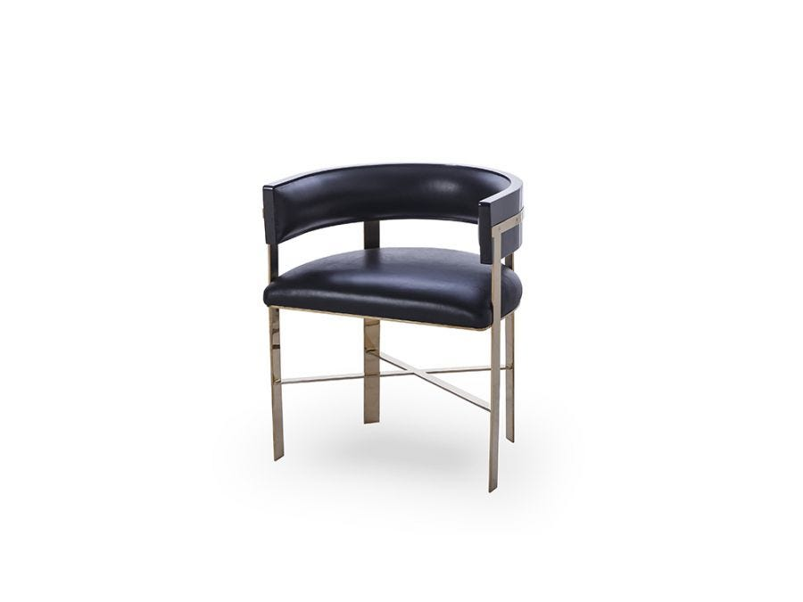 Art Dining Chair Black