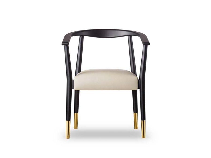 Soho Dining Chair-Matt Black