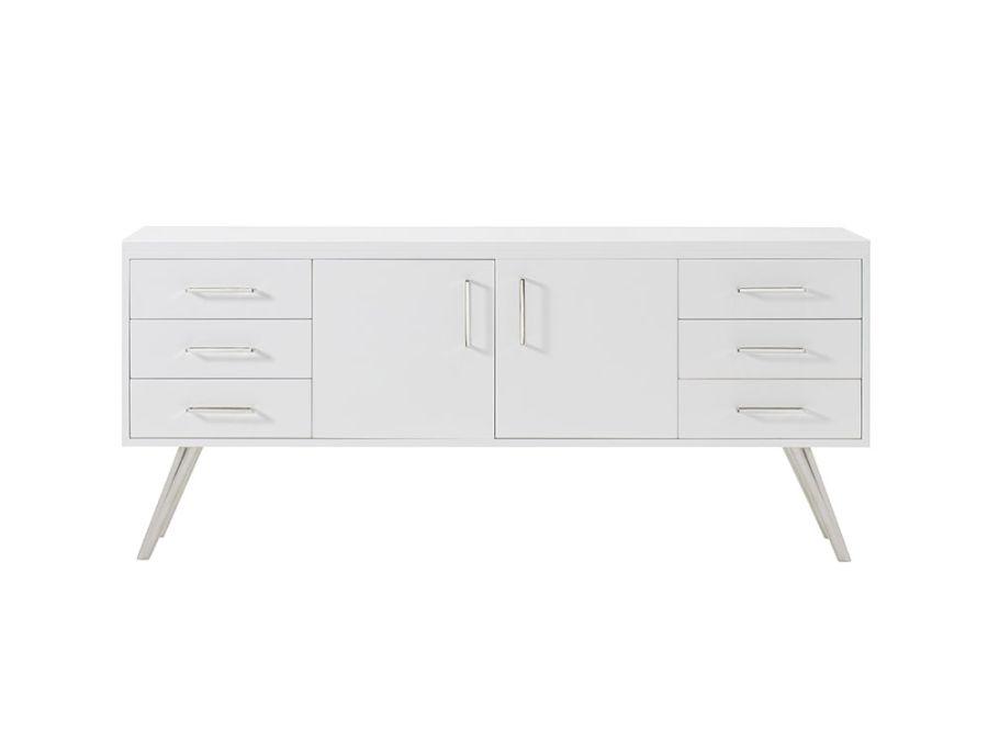 Diaz Sideboard, Gloss White