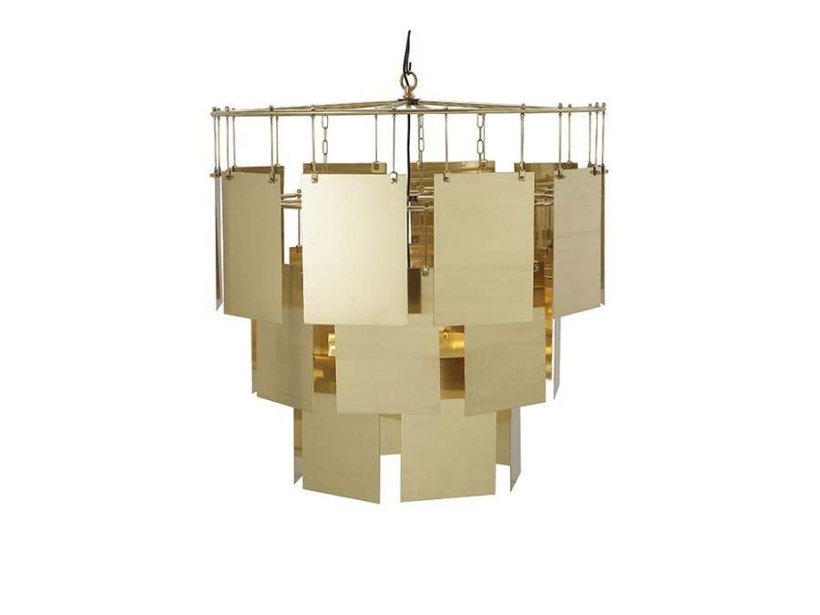Marilyn Chandelier-Lrg/Brass