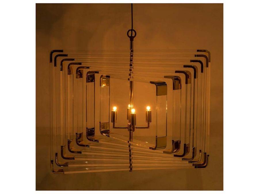 Spiral Acrylic-7 Layer-Brass