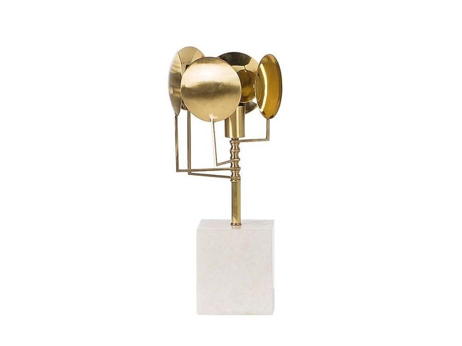 Sun Lamp, Brass