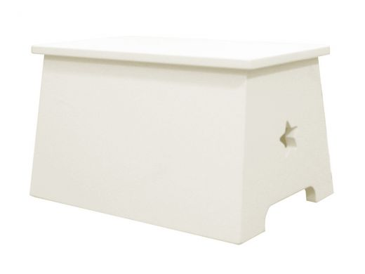 Stool (For Cabin Bed) - Ivory