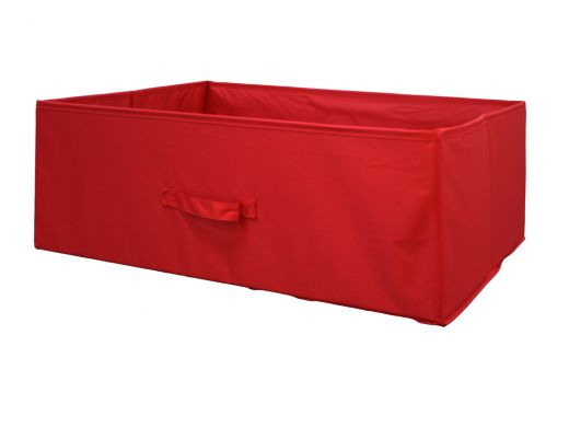 Large Canvas Box - Red