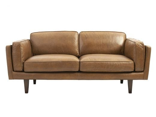 Brooklyn 2.5 Seat Sofa, Leather