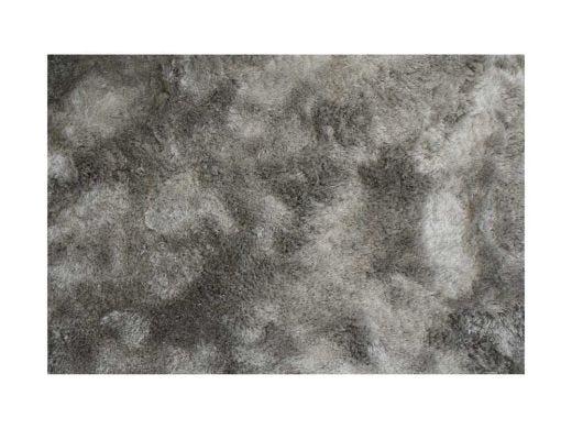 Silky Shaggy Silver Rug 8x10