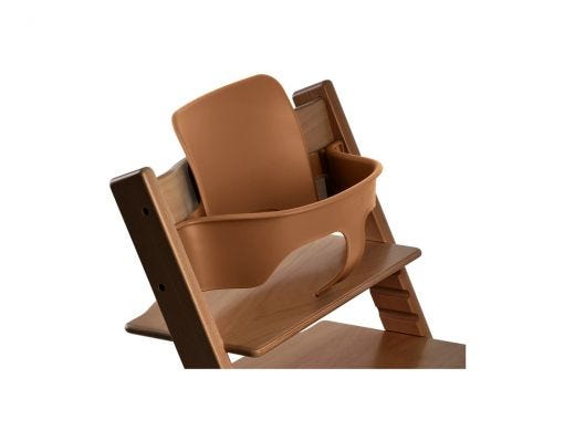 Trip Trapp Baby Set With Extended Glider Walnut Brown