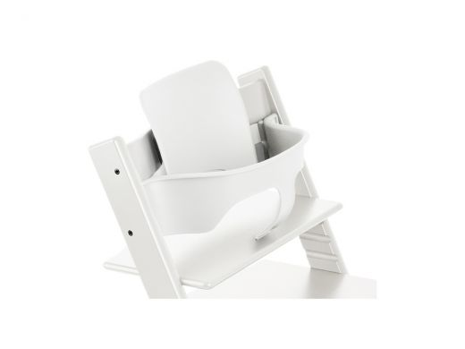 Trip Trapp Baby Set With Extended Glider White
