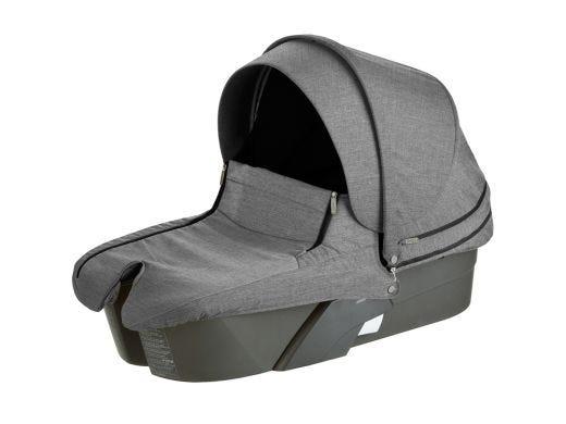 Xplory Carrycot Style Kit Black Melange