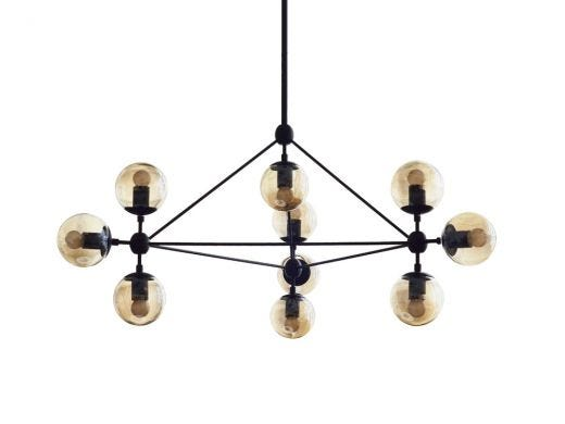 Antique Glass Ceiling Lamp