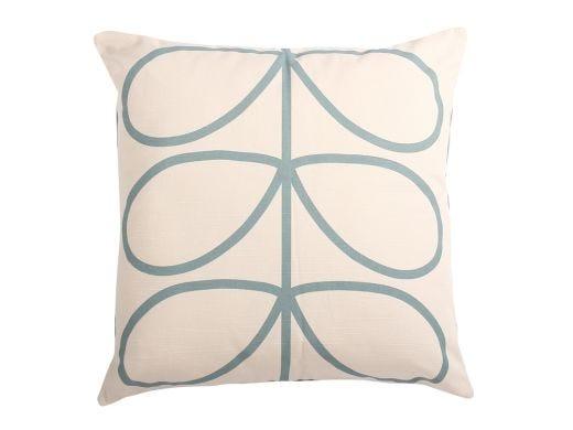 Linear Blue Cushion Cover