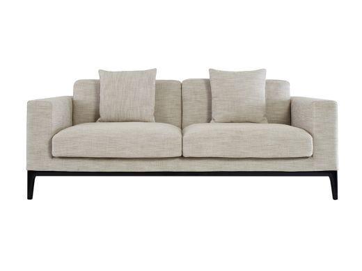 Turin  2 Seat Sofa, Natural