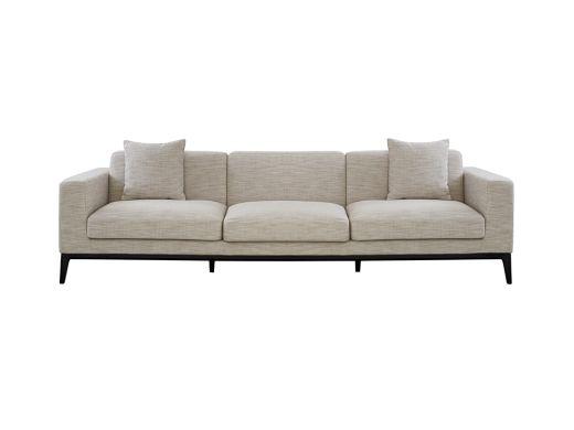 Turin 3 Seat Sofa, Natural