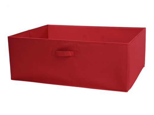 Canvas Box Red Large