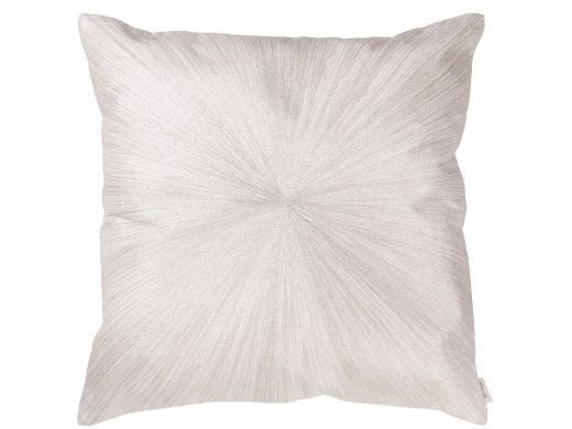 Starburst Silver Cushion Cover