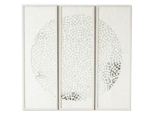 Paper Artwork Triptych