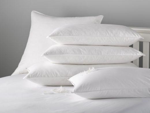 Duck Down 50/50 Pillow, Standard