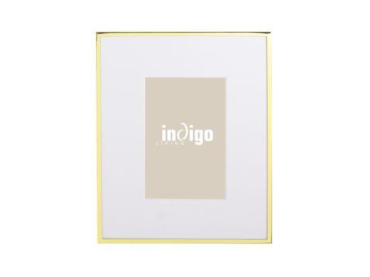 "Chloe Photo Frame 4x6"", Gold"
