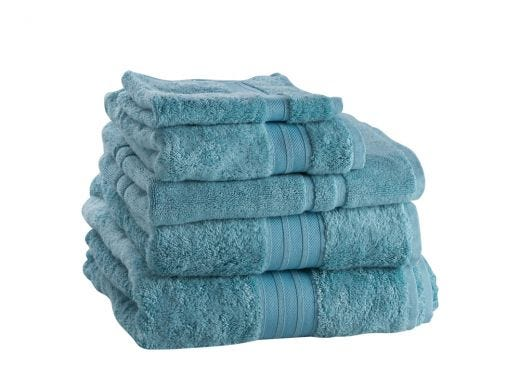 Bamboo Bath Towel, Aqua