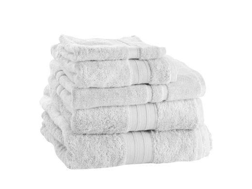 White Bamboo Bath Towel